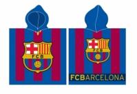 Poncho de baie cu echipe fotbal FC Barcelona Copil