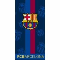 Prosop de plaja bumbac cu echipe fotbal FC Barcelona 70 x 140 cm
