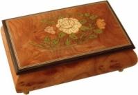 Cutie muzicala din lemn pentru bijuterii ''Clasic''