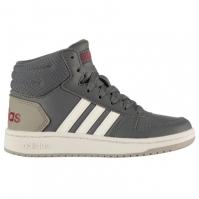 adidas 2.0 Mid Shoes pentru Copil gri inchis alb