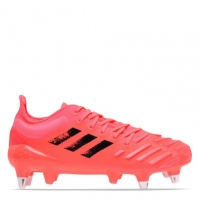Ghete adidas Predator XP Rugby gazon sintetic roz