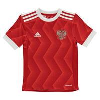 adidas Rusia Confederation Cup Shirt 2016 2017 pentru Copil rosu alb