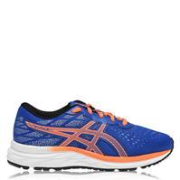 Adidasi alergare Asics Gel Excite 7 pentru baietei albastru portocaliu