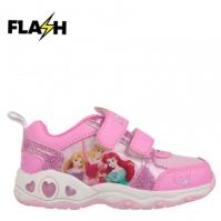 Adidasi cu luminite pentru Copil cu personaje disney printesa