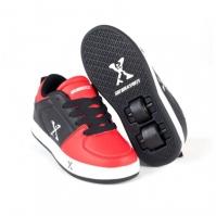 Adidasi cu role Sidewalk Sport Street pentru Copil negru rosu