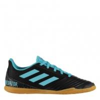 Adidasi fotbal de sala adidas Predator 19.4 pentru Copil negru albastru