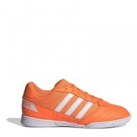 Adidasi fotbal de sala adidas Super Sale pentru Copil portocaliu alb