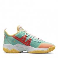 Adidasi pentru Baschet Nike One Take II pentru Barbat verde portocaliu