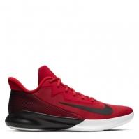 Adidasi pentru Baschet Nike Precision 4 Low pentru Barbat rosu negru alb