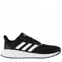 Adidasi sport adidas Falcon pentru Copil negru alb