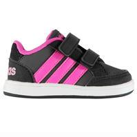 Adidasi sport adidas Hoops Nubuck pentru fete pentru Bebelusi
