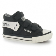 Adidasi sport British Knights Roco pentru Copil negru alb
