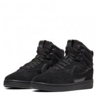 Adidasi sport Nike Court Borough iarna pentru baietei negru