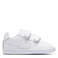 Adidasi sport Nike Court Royale baietei alb
