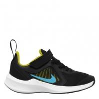 Adidasi sport Nike Downshifter 10 baieti negru albastru gri