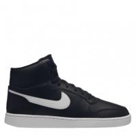 Adidasi sport Nike Ebernon Mid pentru Barbat negru alb