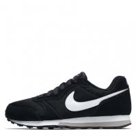 Adidasi sport Nike MD Runner 2 pentru baietei negru alb