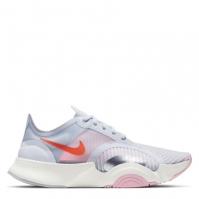 Adidasi sport Nike SuperRep Go pentru Dama gri rosu inchis
