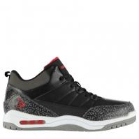 Adidasi sport SHAQ Press pentru Barbat negru rosu