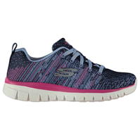 Adidasi sport Skechers Grace Print pentru Dama