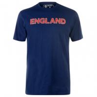 Tricou Anglia Cricket bumbac pentru Barbat bleumarin