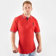 Tricouri Polo Anglia Cricket Pique pentru Barbat