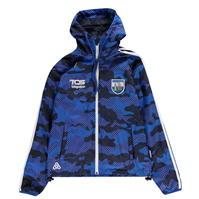 Jacheta Azzurri Waterford ploaie pentru baietei albastru roial camuflaj alb