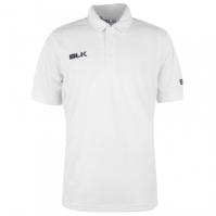 BLK Cricket Polo pentru Barbat alb