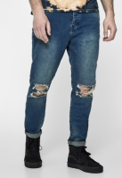 Blugi urban ALLDD Unchained Tim nisip-washed Cayler and Sons albastru