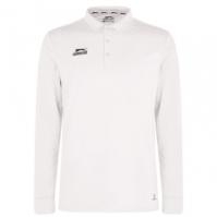 Bluza crichet cu maneca lunga Slazenger pentru Barbat alb