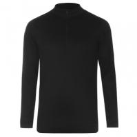 Bluza de corp cu fermoar pentru Barbat negru