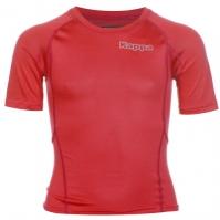 Bluza de corp Kappa 4Skin Kombat pentru baietei rosu