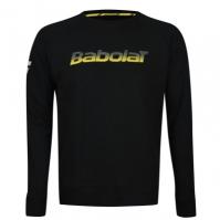 Bluza de trening Babolat Core pentru Copil negru