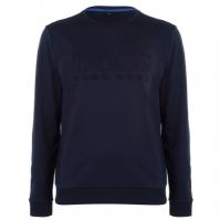 Bluza de trening BOSS Heritage bleumarin