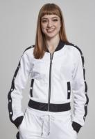 Bluza de trening cu nasturi pentru Dama alb-negru Urban Classics