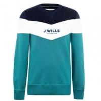 Bluza de trening Jack Wills Beaufort Cut And Sew inchis bleu