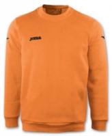Bluza de trening Joma Polyfleece Cairo Orange Fluor portocaliu fosforescent