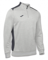 Bluza de trening Joma Campus II 1/2 Zipper Light Melange