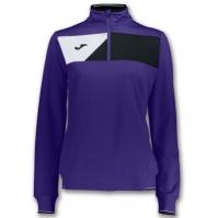 Bluza de trening Joma Crew II Purple pentru Dama