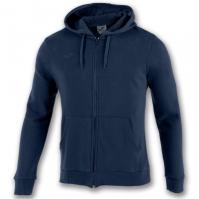 Bluza de trening Joma Zipper Combi bumbac bleumarin