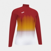 Bluza de trening Joma Elite Vii rosu-alb-galben