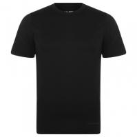 Bluza termala Campri cu Maneca Scurta pentru Barbat negru