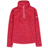 Bluze cu fermoar Nevica Brixen Quarter pentru fetite roz