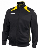 Bluze de trening Joma Poly-tricot Champion II Man Neg-amar