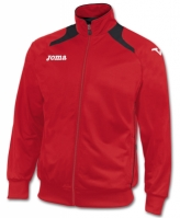 Bluze de trening Joma Poly-tricot Champion II Man rosu-negr