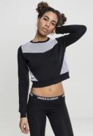 Bluza scurta Mesh Terry pentru Dama Urban Classics
