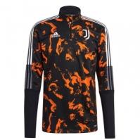 Bluze trening adidas Juventus imprimeu Graphic pentru Barbat negru portocaliu