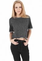 Tricou cu maneca scurta Melange pentru Dama Urban Classics