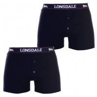 Lenjerie intima  Lonsdale 2 Pack    barbat