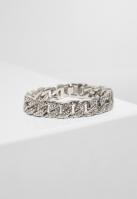 Bratari Big cu pietricele argintiu Urban Classics